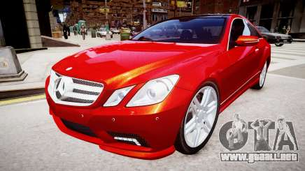 Mercedes-Benz E500 Coupe para GTA 4