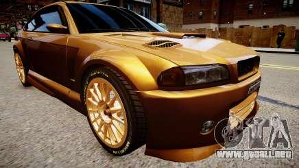 Sentinel GTR para GTA 4