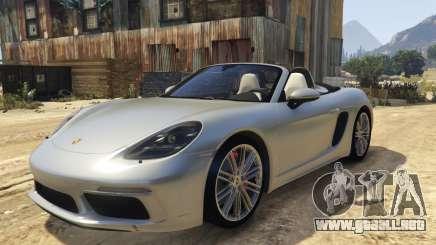 718 Porsche Boxster S Roadster para GTA 5