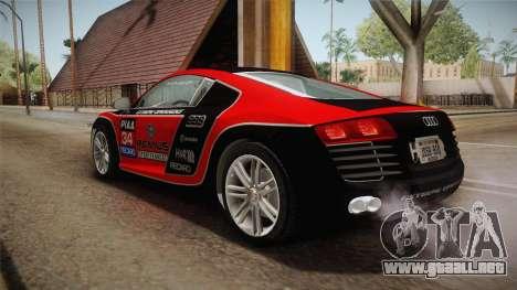 Audi Le Mans Quattro 2005 v1.0.0 YCH Dirt para las ruedas de GTA San Andreas