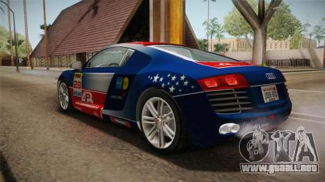 Audi Le Mans Quattro 2005 v1.0.0 YCH Dirt para GTA San Andreas