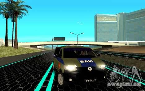 Volkswagen Transporter para GTA San Andreas