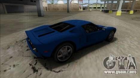 2005 Ford GT para GTA San Andreas left