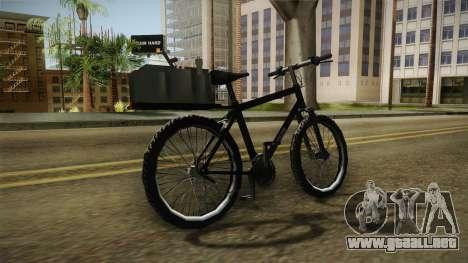 Police Mountain Bike para la visión correcta GTA San Andreas