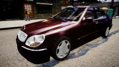 Mercedes-Benz S600 Special Edition para GTA 4