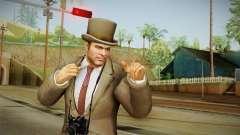 Dead Rising 2 Case West - Frank Dress Suit para GTA San Andreas