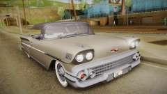 Chevrolet Impala Sport Coupe V8 1958 HQLM para GTA San Andreas