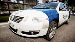 Finnish Police Volkswagen Passat (Poliisi) para GTA 4