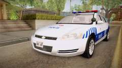 Chevrolet Impala Turkish Police para GTA San Andreas