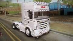 Scania R620 White Adabi para GTA San Andreas