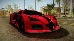 Gumpert Apollo Enraged para GTA San Andreas