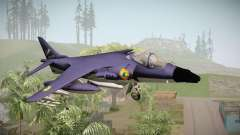 Sea Harrier White Tigers Squadron Indian Navy para GTA San Andreas