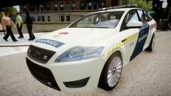 Hungarian Ford Police Car para GTA 4