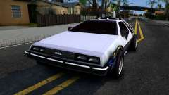 Delorean DMC-12 Time Machine para GTA San Andreas