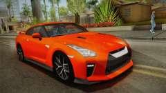 Nissan GT-R Premium 2017 para GTA San Andreas
