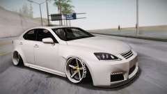 Lexus IS F 2009 Hachiraito para GTA San Andreas