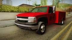 Chevrolet Silverado 2500HD Utility 2001 HQLM para GTA San Andreas