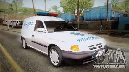 Opel Astra F Van Ambulancia para GTA San Andreas