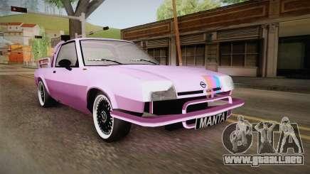 Opel Manta Pickup para GTA San Andreas