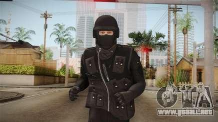 GTA Online DLC Heists Skin para GTA San Andreas