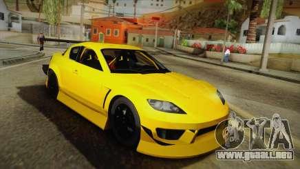 Mazda RX-8 para GTA San Andreas