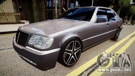 Mercedes-Benz S70 para GTA 4