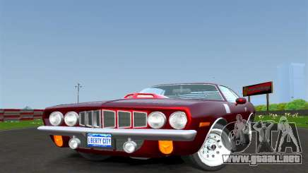 Plymouth Barracuda para GTA 4