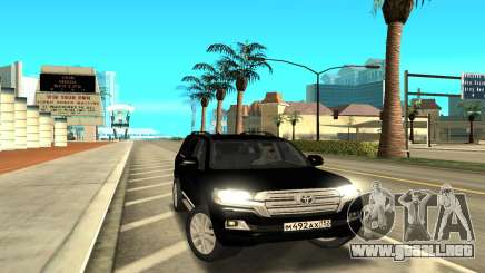 Land Cruiser 200 para GTA San Andreas