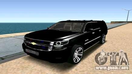 Chevrolet Suburban 2015 para GTA San Andreas