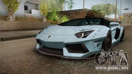 Lamborghini Aventador LP700-4 Roadster 2013 v2 para GTA San Andreas