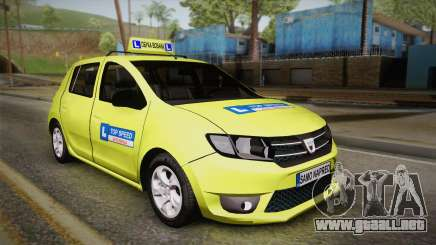 Dacia Sandero 2016 TOP SPEED para GTA San Andreas