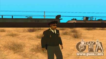 La policía rusa para GTA San Andreas