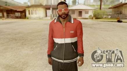 GTA 5 Franklin Jacket and Tracker Pant v1 para GTA San Andreas