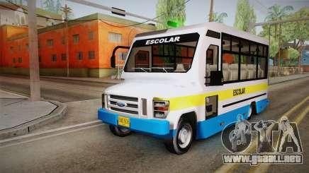 Ford Econoline 150 Microbus para GTA San Andreas