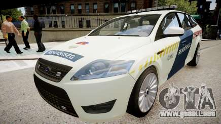 Hungarian Ford Police Car para GTA 4