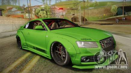 Audi S5 Liberty Walk LB-Works para GTA San Andreas