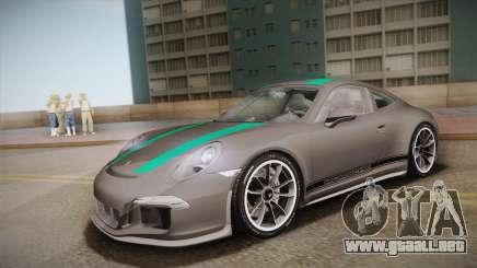 Porsche 911 R (991) 2017 v1.0 Green para GTA San Andreas