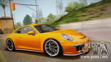 Porsche 911 R (991) 2017 v1.0 para GTA San Andreas