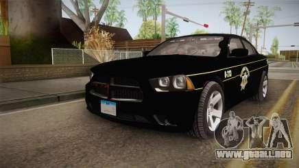 Dodge Charger 2013 SA Highway Patrol v2 para GTA San Andreas