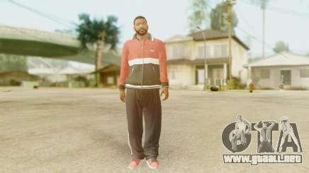 GTA 5 Franklin Jacket and Tracker Pant v2 para GTA San Andreas