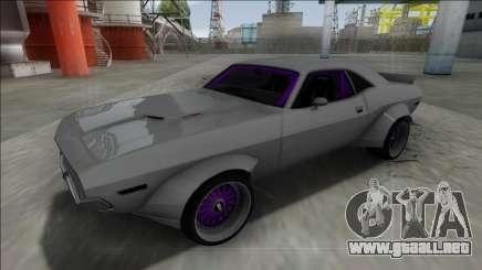 1970 Dodge Challenger Rocket Bunny para GTA San Andreas