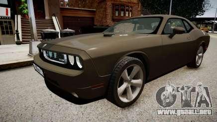 Dodge Challenger SRT8 2010 para GTA 4