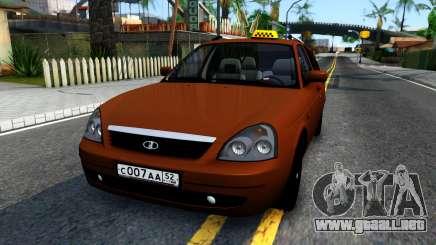 VAZ 2171 Taxi para GTA San Andreas