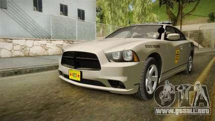 Dodge Charger 2012 SA State Patrol para GTA San Andreas