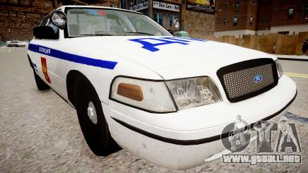 Ford Crown Victoria police DPS para GTA 4