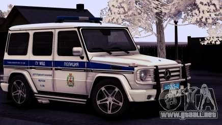 Mercedes-Benz G55 AMG ГУ МВД para GTA San Andreas
