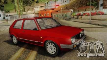 Volkswagen Golf Mk2 Stock para GTA San Andreas
