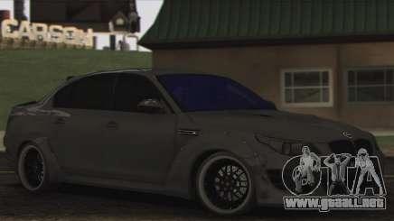 BMW E60 Hamann para GTA San Andreas