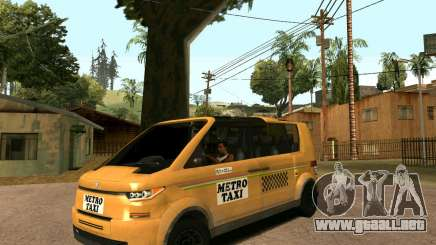 MetroTaxi para GTA San Andreas