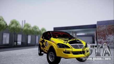 SsangYong Kyron 2 Rally Dacar para GTA San Andreas